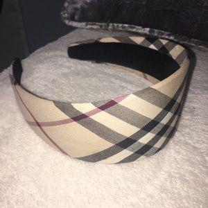 Burberry London Plaid Headband